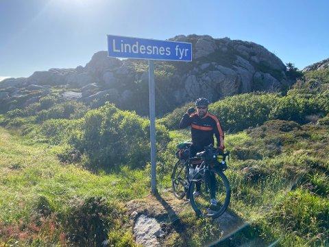 KOMMER HJEM: Ulf Alexandersen vender hjem til Finnmark etter mange år utenfor fylket. Men det er fortsatt usikkert om han har kommet for å bli.