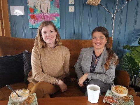Marianne Haukland og Liv Kari Eskeland (Høyre).