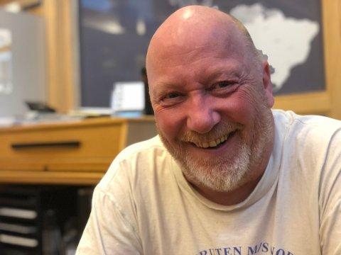 FORNØYD: Fred Willy Persen er daglig leder for M3Cargo i Lakselv. Han er godt fornøyd med at selskapet har hatt hektisk aktivitet allerede fra den spede start.