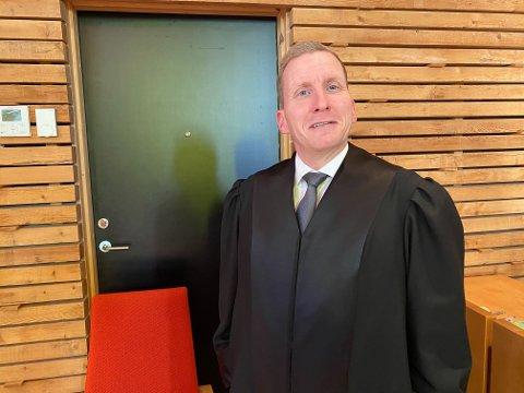 AKTOR: Politiadvokat Are Aarhus ved Finnmark politidistrikt var aktor i rettssaken mot kvinnen tiltalt for grovt underslag.