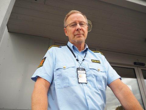 OPPDRAGELSE: Politioverbetjent Svein-Tore Nilsen mener at enkelte foreldre må ta oppdragelsen til barna litt mer på alvor.