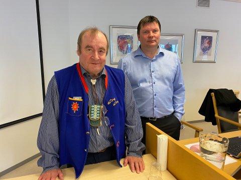 HOPPET OVER BEVIS: Hartvik Hansen (t.v.) og Rune Aslaksen, som leder henholdsvis LFT og  LBT, hevder at dommeren hoppet over deres bevis når de ikke passet inn i dommens konklusjoner.