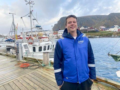 SKRYT: Sjef for Lerøy Norway Seafoods avdeling Sørvær, Frank Arne Ylänen, håper på billigere fergepriser. Han hilser Ap forslag velkommen