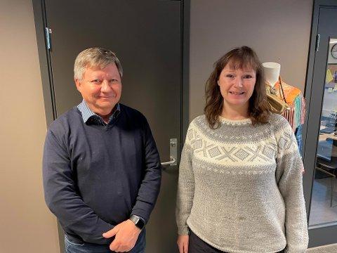 ENIGE: Ordfører Monica Nielsen (Ap) og Alta kommune ble etter hvert enige med direktør Jan Olli og FeFo om Skillemo næringsområde.