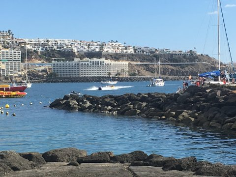 Arguineguin på Gran Canaria.
