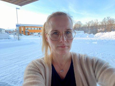 BERØRT: Familien til Katrhine Suhr (38) blir berørt som følge at nytt skolemønster i Alta.