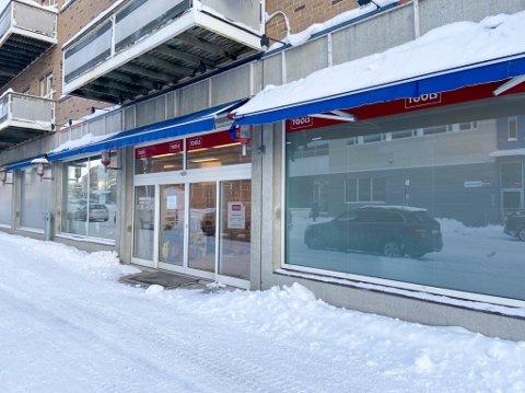 NY LOKALITET: Comfort Alta AS skal inn i Tools sine gamle lokaler i Adelsten-bygget i Alta. Det er både inngang på forsiden og baksiden av butikklokalet.