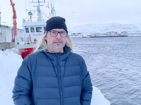 TRIST NYHET: Gamvik-ordfører Alf Normann Hansen synes det er kjempetrist at 33 personer mister sin arbeidsplass denne uken.