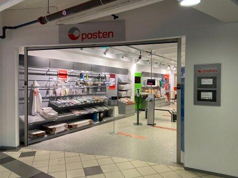 SISTE POSTKONTORET I FINNMARK: Dette er siste postkontoret i Finnmark. Fra 2023 vil det kun være seks postkontor igjen i Norge - det er et på Svalbard og fem i Oslo.