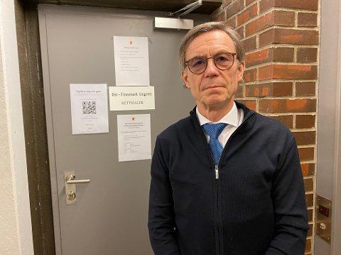 NY SORENSKRIVER: Finn-Arne Schanche Selfors er innstilt som ny sorenskriver for den sammenslåtte tingretten i Øst-Finnmark og Indre Finnmark tingrett. Her er han på retterstedet i Vadsø.