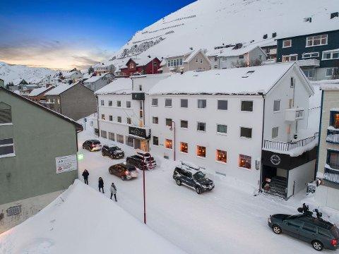 Dette er det eneste hotellet som er tilsalgs i Finnmark.