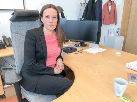 IKKE OVERRASKET: Hammerfestordfører Marianne Sivertsen Næss sier at man igjen har opplevd koronasmitte i kommunen etter at arbeidere har reist til Hammerfest fra utlandet.
