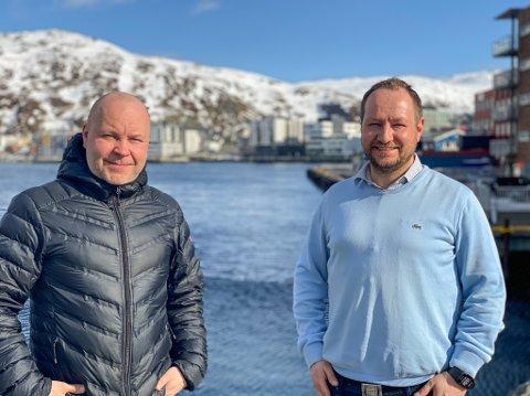 OVERTAR: Redaktør Stian Eliassen er konstituert som ansvarlig redaktør i iFinnmark, Finnmark Dagblad, Dagbladet Finnmarken og Finnmarksposten, mens Anders Nesse er konstituert som daglig leder i de samme titlene.