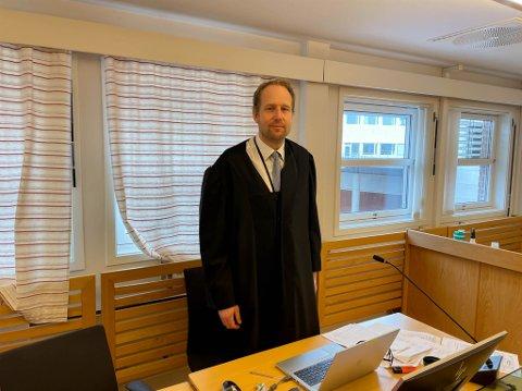 AKTOR: Politiadvokat Ole-Martin Gurandsrud var aktor i Alta tingrett i saken mot kvinnen.