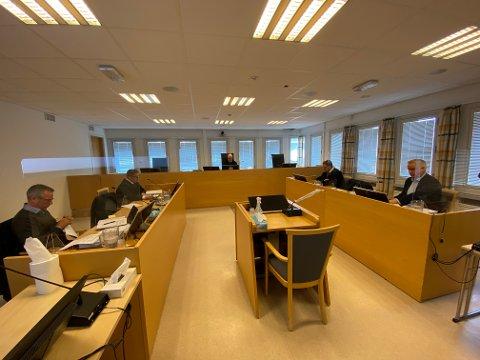 TO DAGER: To dager er satt av i Indre og Østre Finnmark tingrett til å behandle kravet fra Sandmo AS til Vadsø kommune.