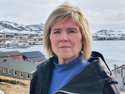 KREVER LØNN: Torill Olsen i Mehamn kjemper for å få lønn hun mener å ha utestående.