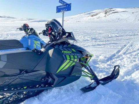KAN BLI ENDRINGR: Flertallet i Stortinget kommer til å gå inn for en endring av motorferdselsloven i utmark. Det betyr at scooterløypene i Finnmark kan bli enda mer styrt av kommunene.