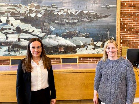 PENGER TIL BARN OG UNGE: Marianne Sivertsen (t.v.) og Berit Hågensen vil gi en million kroner som skal brukes til barn og unge i sommer. Foto: Privat