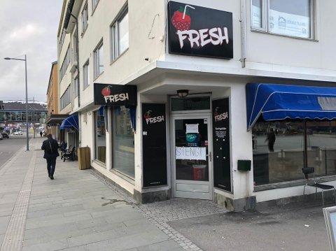 STENGT: Utestedet Fresh i Hammerfest er stengt inntil videre.