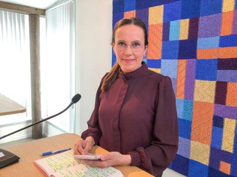 ORDFØRER: Marianne Sivertsen Næss i Hammerfest kommune. Foto: Trond Ivar Lunga