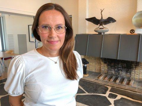 INGEN SMITTE: Marianne Sivertsen Næss kunne for første gang siden utbruddet startet melde om ingen smitte i Hammerfest siden fredag. Foto: Trond Ivar Lunga
