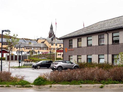 NY LEDER: Måsøy kommune søker kommunalleder. Her et bilde av rådhuset i Havøysund i Måsøy kommune.