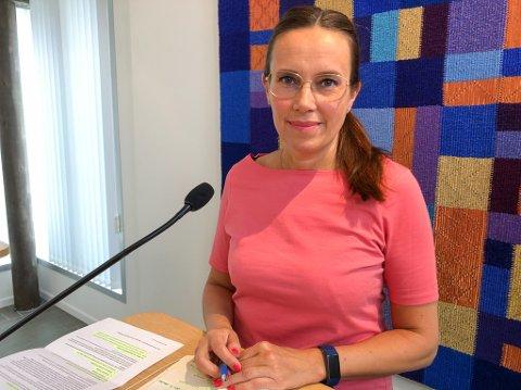 INGEN SMITTE SIDEN FORRIGE TORSDAG: Ordfører Marianne Sivetsen Næss sier at det ikke har vært påvist smitte i Hammerfest siden torsdag 17. juni. Foto: Trond Ivar Lunga