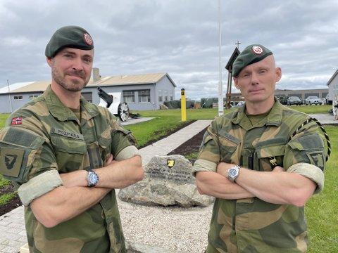 SJEFSBYTTE: Michael Spanne Rozmara (til venstre) tar over stillingen som GSV-sjef etter Jan Marius Nilsen.