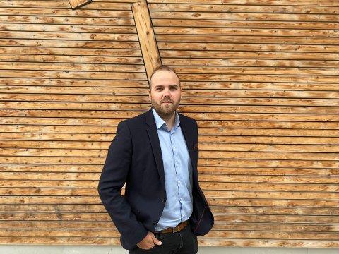 NY JOBB: Lars Bjørkli er ansatt som ny direktør i Hammerfest Næringsforening.