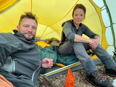 TURTIPS: Robert Bjørklund og Kristine Thybo Hansen driver turblogg.