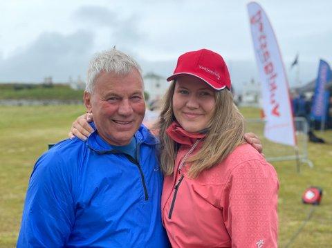 FORNØYD: Roy Arne Karlsen og Marie Johanne Esbensen er i styret til Yukigassen. De er fornøyde med støtten de har fått fra lokalbefolkningen til å lage aktivitet i Vardø, ettersom Yukigassen har vært avlyst i to år.