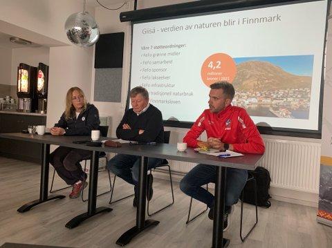 På informasjonsmøtet som FeFo inviterte til var Edelh Ingebrigtsen, Jan Olli og Jan Morten Hansen representert.