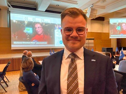 FERDIG: Vetle Langedahl står uten politisk verv for første gang på 10 år etter nederlaget mandag. Nå tar han fatt på en ny karriere.