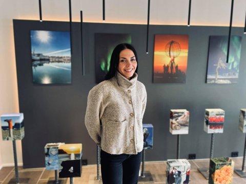 NYANSATT: Marianne Berg har sagt opp sin stilling i Visit Nordkapp. Nå flytter hun til Tromsø.