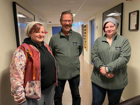 FONTENER: Ann-Kristin Opdal Olsen, Astor Berntsen, Michelle Steinbakk fra Fontenehuset Harstad.