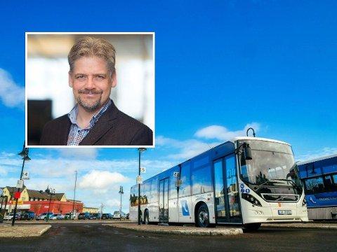 Søndag blir det flere innstilte bussruter i Harstad regionen.
