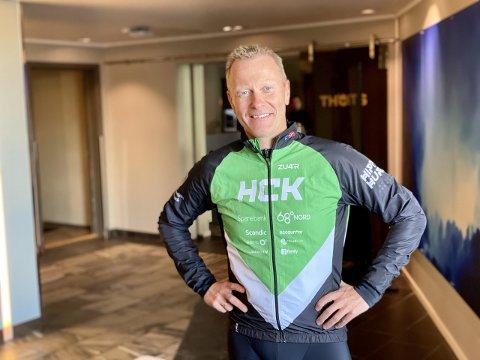 Knut-Eirik Dybdal sier at flere store lag og kjente syklister er klare for Arctic Race of Norway.