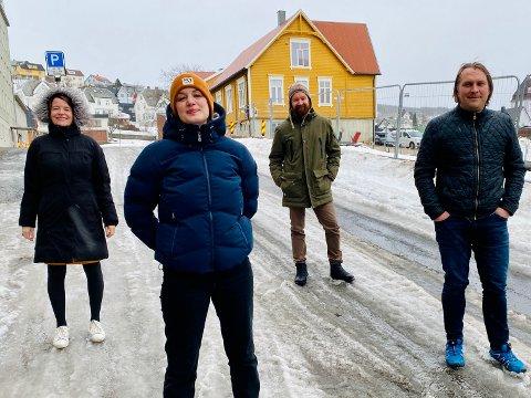 Kriss Rokkan Iversen (MDG), Julie Løtveit (Rødt), Tom-Ivar Karlsen (Ap) og Espen Ludviksen har alle økt oppslutning siden forrige valg på iHarstads partimåling som ble gjennomført tirsdag kveld.
