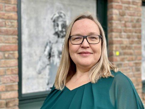 GLEDER SEG: Heidi Angell Strøm synes det er stor stas å få spørsmål om å være speaker i panelet «Meet the award winners».
