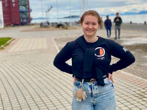 TIPS: Leder Stine Helen Rosenkranz for fadderstyret ved UiT Harstad kommer med tips og anbefalinger til nye studenter i byen.