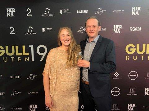 NOMINASJON: «Hatets vugge» mottok nominasjon til Gullruten i 2019. Avbildet: Ingrid Galadriel Aune Falch og Christian Aune Falch.