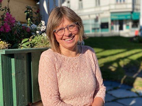 LYKKELIG HELSELEDER: Fagleder Eli Kristin Johansen (64) visste med én gang at hun hadde valgt riktig da hun ble helsesøster.