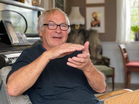 SPENNENDE: Sverre Krüger (75) sier seg fornøyd med utfordringene han har hatt i arbeidslivet. Men å legge inn årene nå ville vært som å legge ned selve livet.