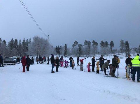 48 deltakere i aldersgruppen 1 til 17 år deltok på merkesrennet i Dragåsen.