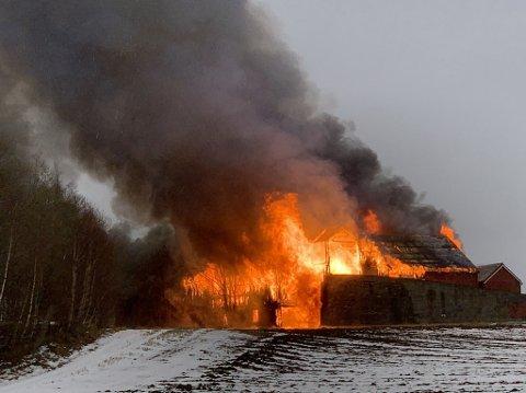 ØVELSE: Innherred Brann og Redning har brannøvelse på Nesset torsdag.