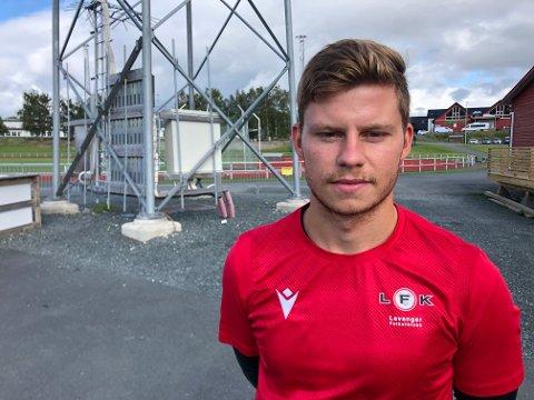 MIDTBANE: Alexander Zoulakis er lånt ut fra Fredrikstad denne sesongen.