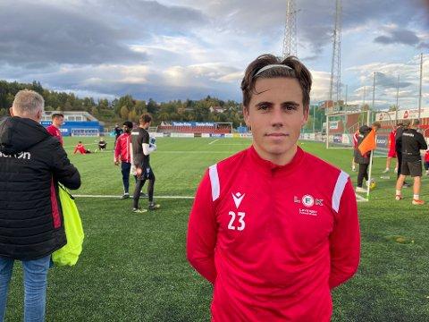 Thomas Liene Ness er lånt ut fra Jerv til Levanger FK.