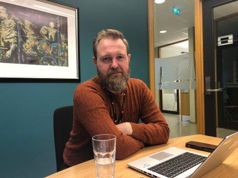 ÅRSRESULTAT: Kommunedirektør Peter Ardon er tilfreds med årsresultatet for 2020.