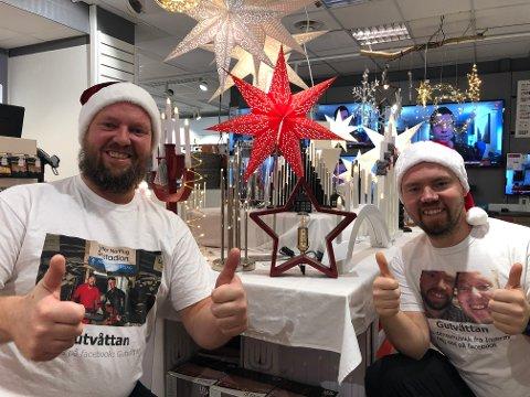 JULEMUSIKK: Gutvottan,  alias Vegard og Morten Skevik, lanserer sin første jule-EP fredag.
