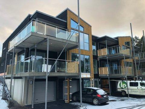 10.200.000: Fem leiligheter i Kjerknesvågen panorama er solgt for tilsammen 10.265.000 kroner.